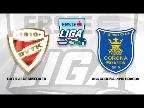 Erste Liga 128: DVTK Jegesmedvék - ASC Corona 2010 Braşov7-2