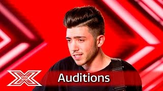 Video Emotions run high for Christian Burrows | Auditions Week 1 | The X Factor UK 2016 MP3, 3GP, MP4, WEBM, AVI, FLV Mei 2018
