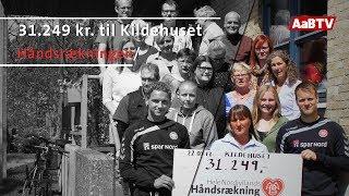 Kildehuset har modtaget 31.249 kr. af AaB som en del af Hele Nordjyllands Håndsrækning. AaB har gennem Hele Nordjyllands...