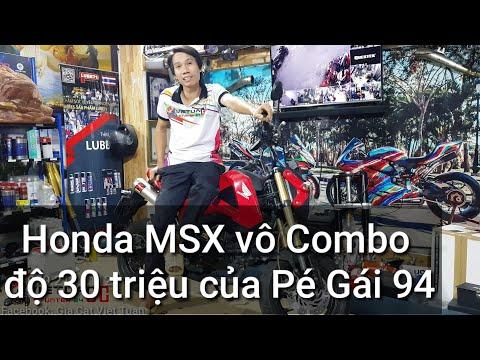 Combo độ 30tr Brembo,Ohlins,Akrapovic,Tyga Carbon Honda MSX cho Pé Gái 94 bởi Kỹ Sư Hẻm. VietTuanGC - Thời lượng: 5 phút, 47 giây.