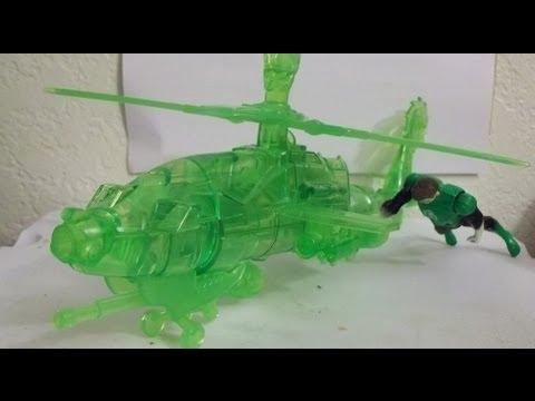 Green Lantern battle breakouts Construct helicopter