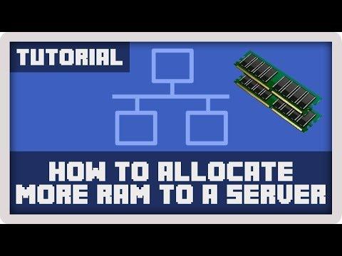 Server Tutorial: How to Allocate More RAM to a Minecraft Server