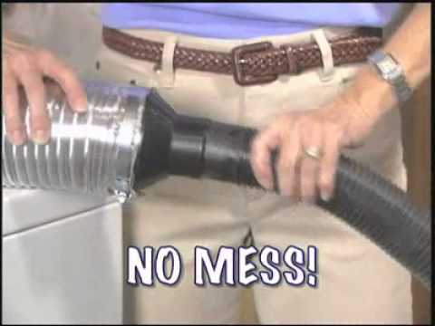 how to clean dryer vent system