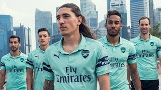 Introducing Arsenal's 2018/19 PUMA third shirt