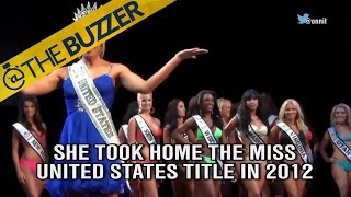 A former Miss United States wins her boxing debut by @The Buzzer