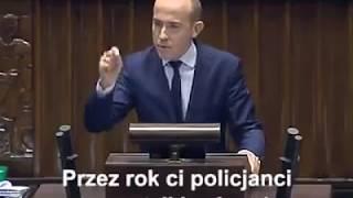 Mocne przemówienie Budki: Dopóki nadzór nad Polską Policją będą miały osoby takie jak…