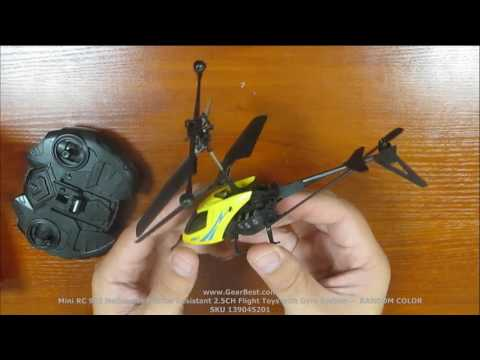 GearBest.com - Mini RC 901 Helicopter