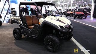 6. 2018 Yamaha Viking Ranch Edition Utility ATV - Walkaround - 2017 Toronto ATV Show