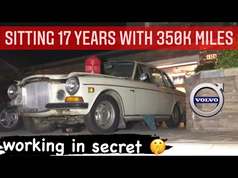 '69 Volvo 164 Rescue - will it run & drive after 17 years?