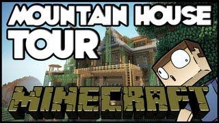 Minecraft: Mountain House Tour + Download