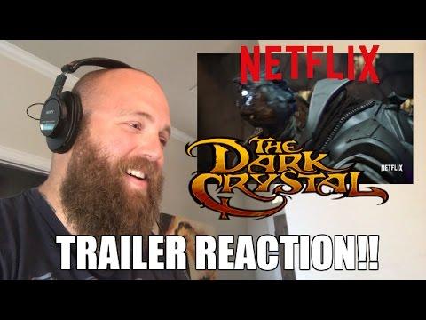 NETFLIX DARK CRYSTAL: Trailer REACTION!! WOW!