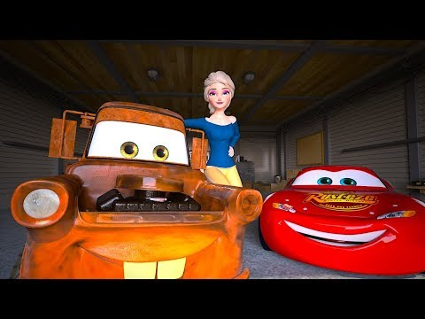 Elsa Unfreezes FROZEN Mater | Act of True Friendship | Cars Toys Movies Animated Short EPISODE 20