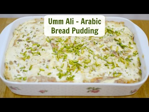 Umm Ali - Arabic Bread Pudding Dessert | Naf's Kitchen