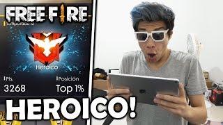 ¡ME COMPRO UN iPad SÓLO PARA LLEGAR A HEROICO en FREE FIRE! *épico*