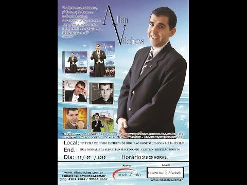 Palestra Allan Vilches - X Feira do Livro Espírita de Ribeirão Bonito