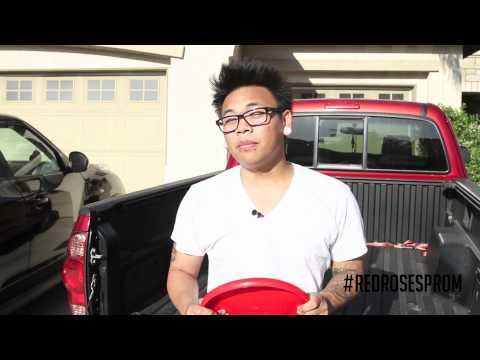 PROM THROWING - Red Roses Formal 2012 AJ Rafael
