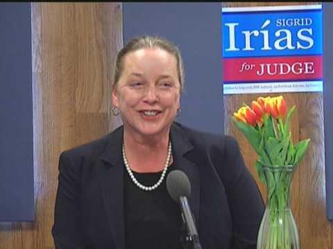 Sigrid Irias for Judge