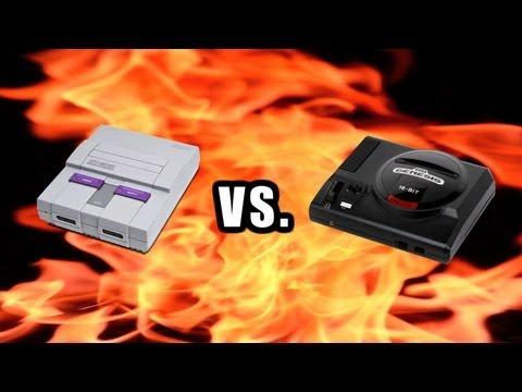 James Rolfe - Super Nintendo vs. Sega Genesis, část 2.