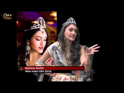 Miss India USA Karina Kohli interview