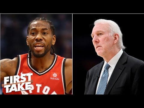 Video: Spurs should have done everything to keep Kawhi Leonard - Stephen A.   First Take