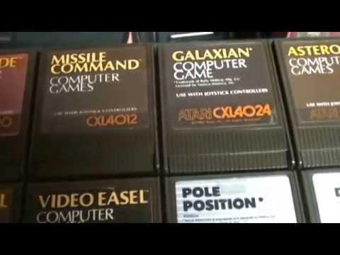 Atari 8 bit computer game introduction