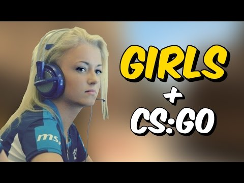 GIRLS IN CS:GO (Best Plays, insane clutches, fails and more)