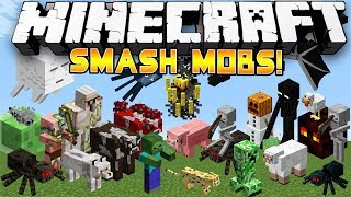 (24 PLAYER BATTLE!) Minecraft Mini-Game: Smash Mobs! - w/Preston, Woofless&CraftBattleDuty