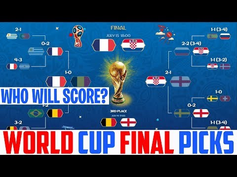World Cup Final Prediction - France vs Croatia Prediction - 2018 World Cup Final Croatia vs France