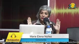 Maria Elena Nuñez comenta ofensas de Felucho Jiménez dirigidas a Margarita Cedeño de Fernández