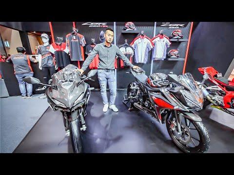Chi tiết Honda CBR150R và CBR250RR Full Carbon và nhiều đồ chơi khủng - Thời lượng: 7 phút, 55 giây.