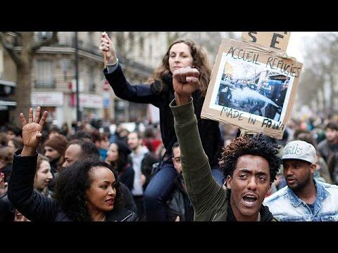 Παρίσι: Διαδήλωση κατά της αστυνομικής βίας
