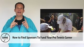 http://www.TennisConditioning.tv How to find sponsors to fund your pro tennis career is one of the issues everybody needs to solve. Developing a social media fan base is essential in achieving that goal.Get more information: http://www.tennis-conditioning.com/2016/09/find-sponsors-fund-pro-tennis-career/Like the shirt? Get it at http://www.StyleConditioning.com Connect with Philipp Halfmann: http://www.PhilippHalfmann.comCONNECT WITH TENNIS CONDITIONING TV- Visit our BLOG: http://www.tennis-conditioning.com- Subscribe to Tennis Conditioning TV: http://www.youtube.com/subscription_center?add_user=TennisConditioningTV- Like us on FACEBOOK: https://www.facebook.com/TennisConditioningTV- Follow us on TWITTER : https://twitter.com/TennisCondiTV- Website: http://www.TennisConditioning.TV- YouTube Channel Page: https://www.youtube.com/TennisConditioningTV- Google+: http://www.google.com/+TennisconditioningTv_Page- Pinterest: http://www.pinterest.com/tennisconditvABOUT USwww.Tennis-Conditioning.tv provides coaches and athletes with educational content, blog posts, news articles, videos, pictures and images. We are passionate about delivering thought provoking tennis-specific news and teaching people how to do something or explaining to them why something is beneficial to them because we believe in the notion that knowledge is power. We don't like to advocate something we don't believe in. We desire to share our thoughts, it's not illegal yet, and hence enable a worldwide audience to benefit as well.Featured Tennis Conditioning TV episodes include:- Professional Tennis Training Session with Alexander Ritschard (http://youtu.be/9EnfIt739pU)- How Flexibility Impacts OnCourt Performance (http://youtu.be/HFTfuzOBKnI)- Why Core Training for Tennis Players is Important (http://youtu.be/6HHGX62GVcw)- Why Jogging is a Waste of Time for Tennis Conditioning (http://youtu.be/Sxb6zuWoCN4)- The Purpose of Athletic Conditioning (http://youtu.be/lSXpMsfkULE)- How to Treat Tennis Elbow (htt