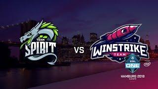 Team Spirit vs Winstrike, ESL Closed Quals EU, bo3, game 2 [Maelstorm & LighTofHeaveN]