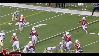 Mike Davis vs Baylor & Texas Tech (2012)