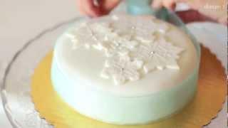 Jak udekorować ciasto na Boże Narodzenie