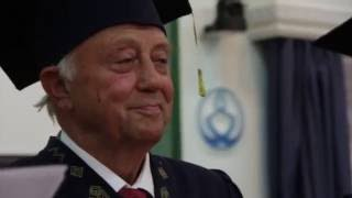 """Nomination of Prof. George Vithoulkas as Honorary Professor of """"The State University of Chuvash Republic"""", Russia on 5th of September, 2016 at the ..."""