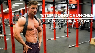 Video STOP DOING CRUNCHES | 5 Exercises For A Six Pack | Ep. 06 MP3, 3GP, MP4, WEBM, AVI, FLV Juli 2018