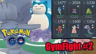 Gymfight#2 El Steelyx que mataba Gigantes , pokemon go, pokemon go ios, pokemon go apk