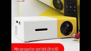 Mini Proyector portátil ULTRA HD