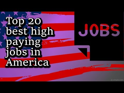 Top 20 best high paying jobs in America for 2017
