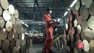 ประเภทงานพรีเซ็นเทชั่นโรงงานอุตสาหกรรม