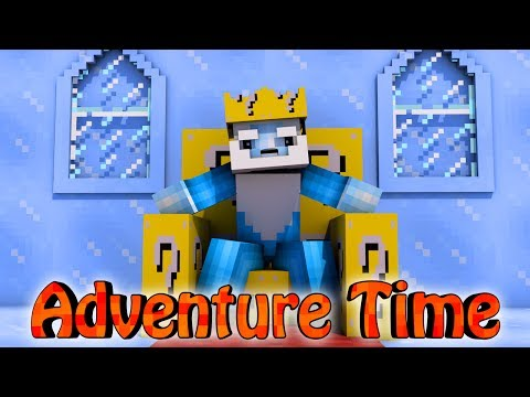Minecraft | LUCKY BLOCK BOSS CHALLENGE - AdventureTime Mod! (Finn, Jake, Bosses)