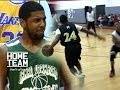 Kyrie Irving & Brandon Key Nasty Shammgod Crossovers!! Who Did It Better?