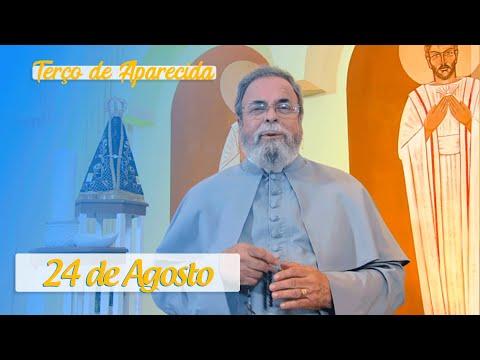 Terço de Aparecida com Pe. Antonio Maria – 24 de Agosto de 2020