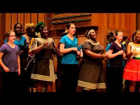 Boston City Singers and Imilonji KaNtu Choral Society Sing
