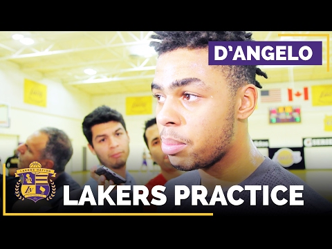 Video: D'Angelo Russell On Magic Johnson, All-Star Weekend, Deficiencies In His Game