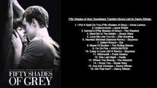 Fifty Shades of Grey Soundtrack Tracklist (OST) by Danny Elfman & VA