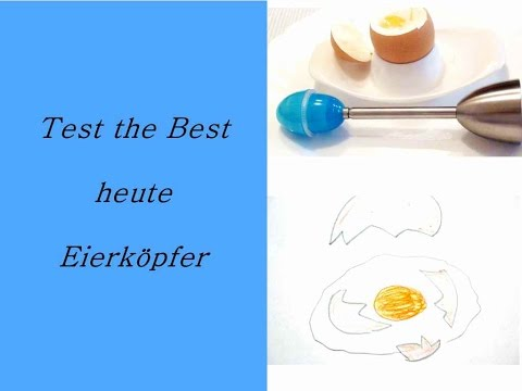 Eier köpfen mit dem Eierköpfer Test the Best #1