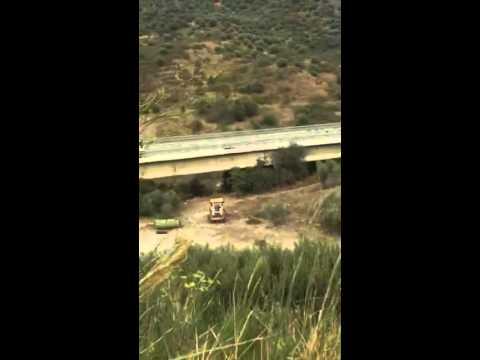 """camion sul viadotto """"himera"""" crollato sulla a19 palermo-catania!"""