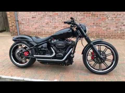Preowned 2018 Harley-Davidson Breakout with 117ci Kit